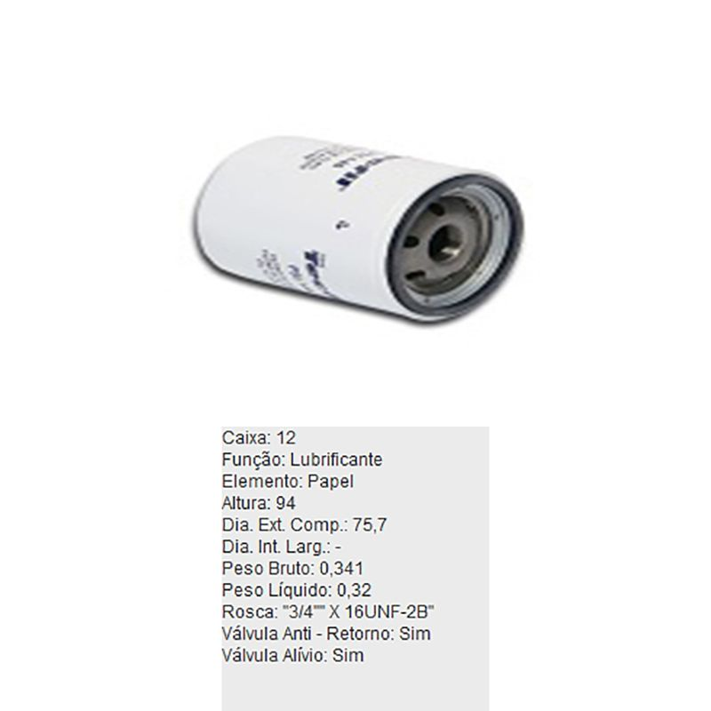 Filtro-De-Oleo-Tecfil-Psl146-Nissan-200Sx-Altima-Serena-DPS-45658-01