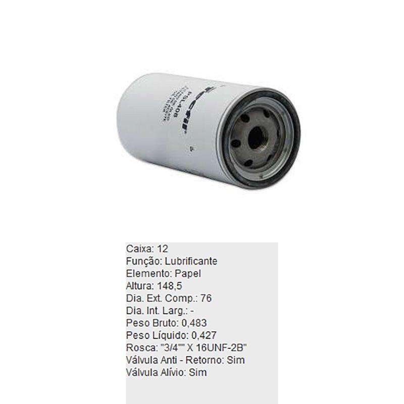 Filtro-De-Oleo-Tecfil-Psl408-Santa-Matilde-Sm300-Sm400-DPS-45717-01