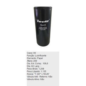 Filtro-De-Oleo-Tecfil-Psl419-Volvo-5350B-A20-A25-A30-B10-DPS-45720-01