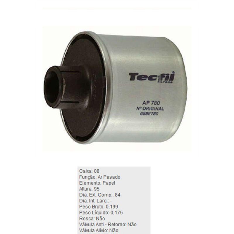 Filtro-De-Ar-Do-Motor-Agrale-1600-Tecfil-Ap780-DPS-45730-01