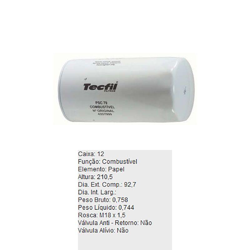 Filtro-De-Combustivel-Volvo-B10M-B7R-Tecfil-Psc79-DPS-45793-01