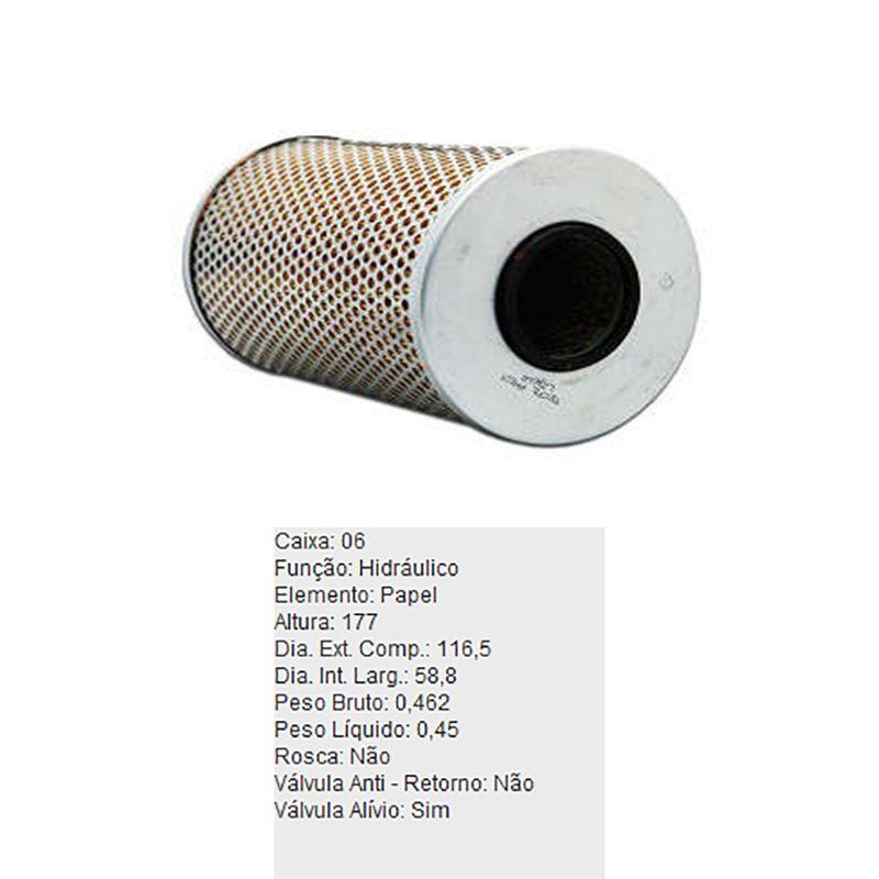 Filtro-Oleo-Hidraulico-Refil-Ph521-Tecfil-DPS-45841-01