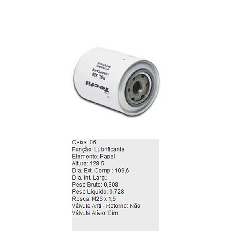 Filtro-De-Oleo-Tecfil-Psl320-Kia-Besta-DPS-45851-01