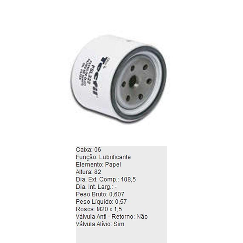 Filtro-De-Oleo-Tecfil-Psl322-Kia-Sportage-DPS-45853-01