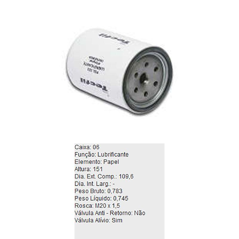Filtro-De-Oleo-Tecfil-Psl323-Kia-K2700-K3600-DPS-45857-01