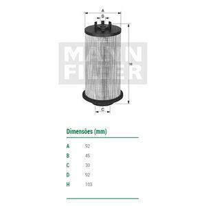 Filtro-De-Combustivel-Atego-Axor-Mann-Filter-Pu1046X-DPS-56318-01