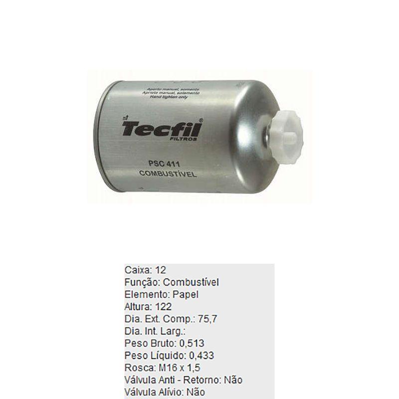 Filtro-De-Combustivel-Ford-F250-Tecfil-Psc411-DPS-58053-01