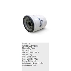 Filtro-De-Oleo-Lubrificante-Psl76-Tecfil-DPS-6401783-01