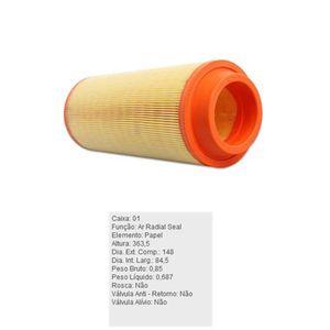 Filtro-De-Ar-Do-Motor-Mitsubishi-L200-Tecfil-Ars7109-DPS-65135-01
