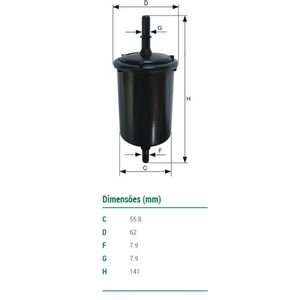 Filtro-De-Combustivel-Kwid-Creta-Duster-Mann-Filter-Wk583-DPS-7500807-01