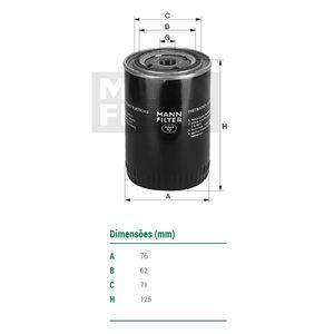 Filtro-De-Oleo-Blazer-S10-Mann-Filter-W71931-DPS-7505710-01