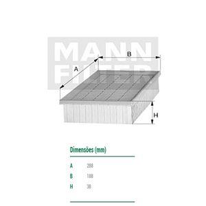 Filtro-De-Ar-Do-Motor-Fox-Crossfox-Mann-Filter-C2990-DPS-7505841-01