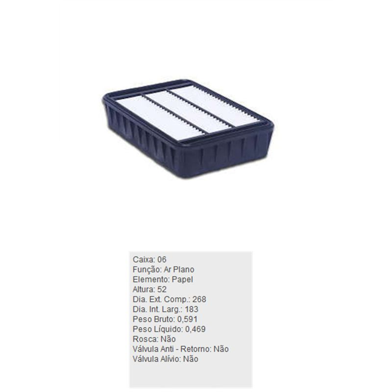 Filtro-De-Ar-Do-Motor-Asx-Tecfil-Arl4144-DPS-7514174-01