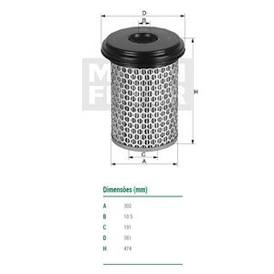 Filtro-Ar-C308801-Mann-DPS-9122-01