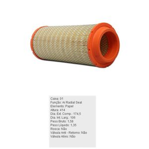 Filtro-De-Ar-Do-Motor-Agrale-Marrua-Iveco-Daily-Troller-Tecfil-Ars8234-DPS-95435-01