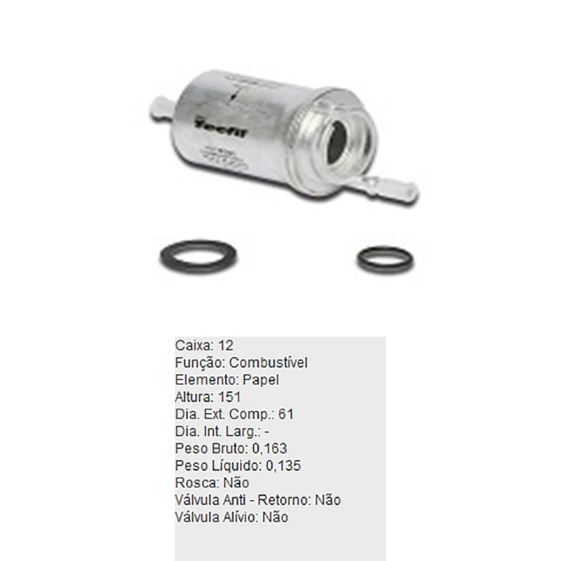 Filtro-De-Combustivel-Audi-A3-Vw-Golf-Jetta-Polo-Tecfil-Gi14-DPS-6310243-01